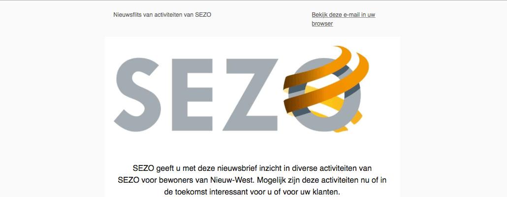 Nieuwsbrieven SEZO
