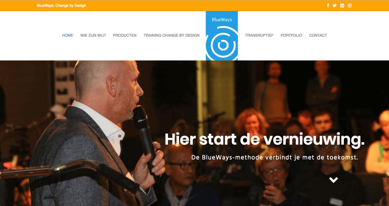 Blueways-website